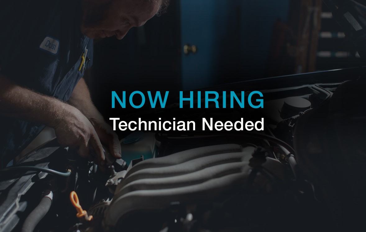 Now Hiring Technician Needed